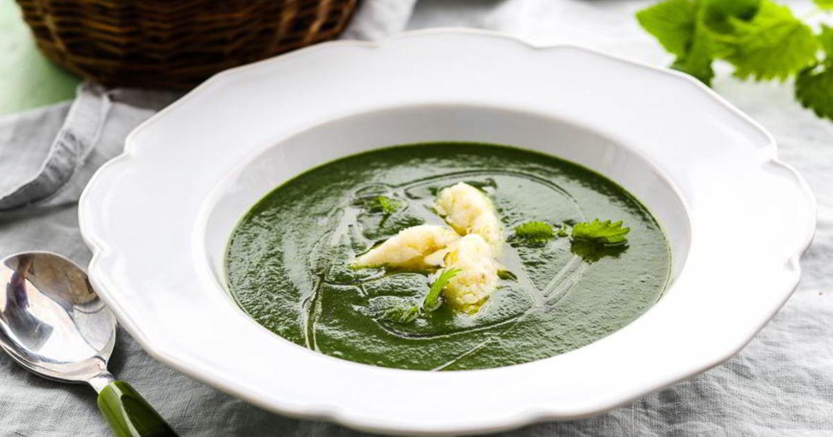 этом случае суп из крапивы рецепт с фото пошагово это необычное