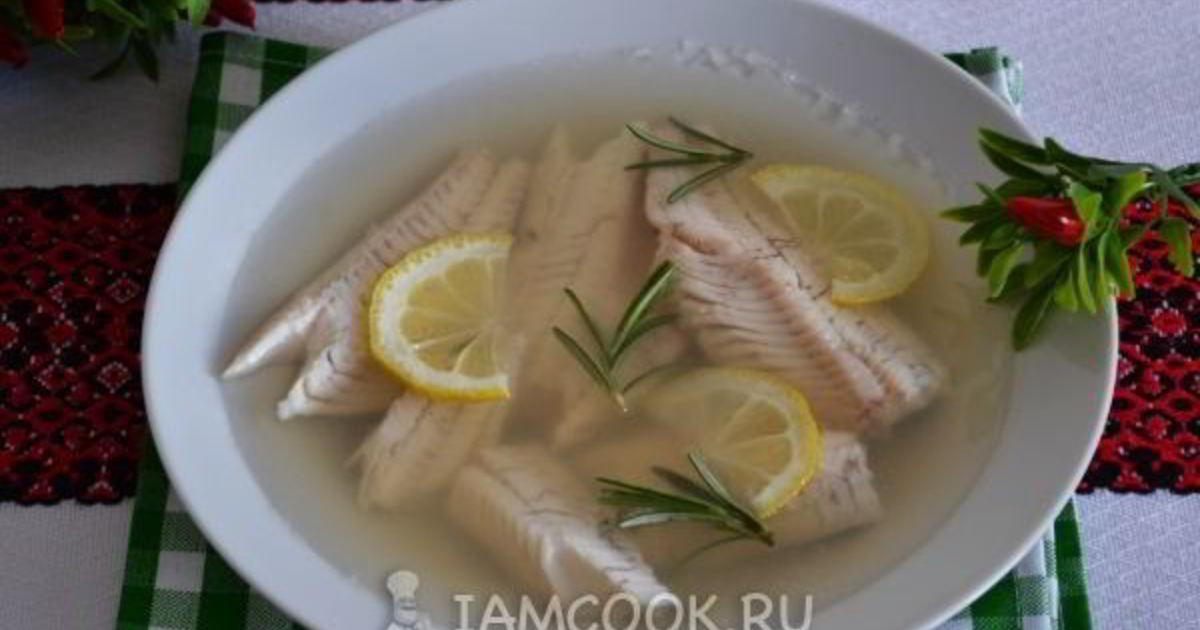 Заливное из окуня речного рецепт с фото